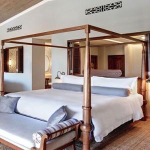 Mauritius Honeymoon Packages St Regis Mauritius Ocean View Manor House Suite Bedroom