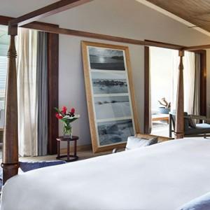 Mauritius Honeymoon Packages St Regis Mauritius Ocean View Manor House Suite Bedroom1