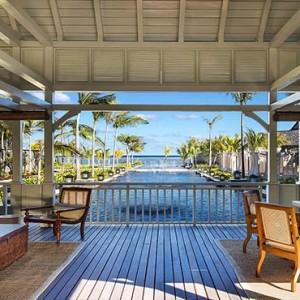 Mauritius Honeymoon Packages St Regis Mauritius Welcome Pavilion Twilight