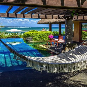 Mauritius Honeymoon Packages The Oberoi Mauritius Hammock In The Villa