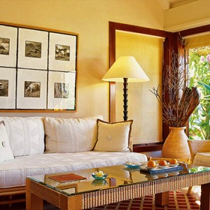 Mauritius Honeymoon Packages The Oberoi Mauritius Luxury Villa With Garden Living Area