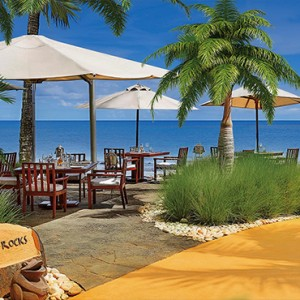 Mauritius Honeymoon Packages The Oberoi Mauritius On The Rocks Restaurant