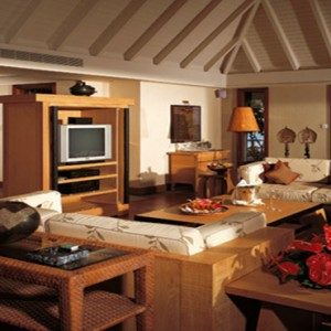 Mauritius Honeymoon Packages The Oberoi Mauritius Royal Villa With Private Pool Living Room1