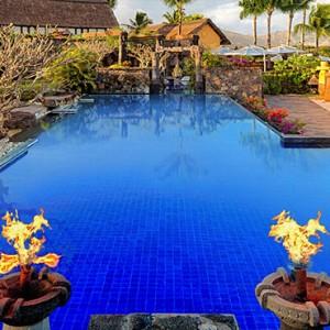 Mauritius Honeymoon Packages The Oberoi Mauritius Spa Pool