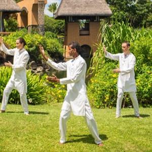 Mauritius Honeymoon Packages The Oberoi Mauritius Tai Chi Class