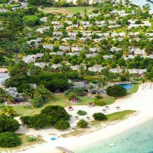 Mauritius Honeymoon Packages Maradiva Villas Resort & Spa Aerial View3