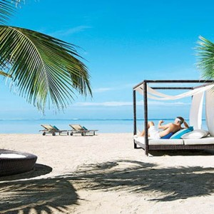 Mauritus Honeymoon Packages Heritage Awali Golf & Spa Resort Relaxing On The Beach Cabana
