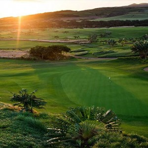 Mauritus Honeymoon Packages Heritage Awali Golf & Spa Resort Sunset View Over The Golf Course