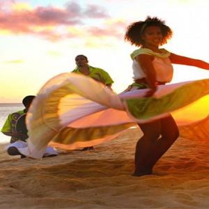 Outrigger Mauritius Beach Resort - Luxury Mauritius Honeymoon Packages - beach dance