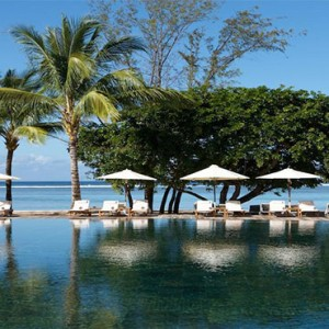 Outrigger Mauritius Beach Resort - Luxury Mauritius Honeymoon Packages - pool views