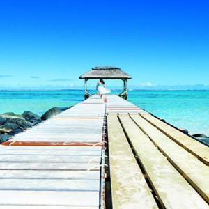 Outrigger Mauritius Beach Resort - Luxury Mauritius Honeymoon Packages - ramp walk