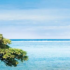 Outrigger Mauritius Beach Resort - Luxury Mauritius Honeymoon Packages - Beachfront Senior suite view