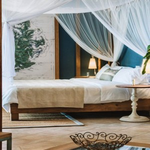 Paradise Cove - Luxury Mauritius Honeymoon Packages - Deluxe bedroom1