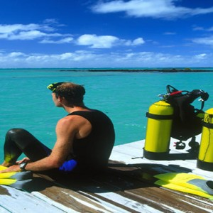 Paradise Cove - Luxury Mauritius Honeymoon Packages - Scuba diving
