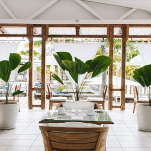 Paradise Cove - Luxury Mauritius Honeymoon Packages - The Dining Room