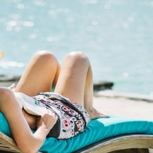Paradise Cove - Luxury Mauritius Honeymoon Packages - Woman relaxing