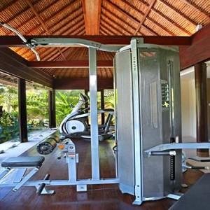 Amarterra Villas Bali Nusa Dua - Luxury Bali Honeymoon Packages - Gym Fitness