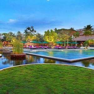 Amarterra Villas Bali Nusa Dua - Luxury Bali Honeymoon Packages - Pool view