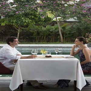 Amarterra Villas Bali Nusa Dua - Luxury Bali Honeymoon Packages - Private dining1