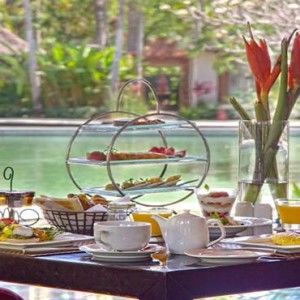Amarterra Villas Bali Nusa Dua - Luxury Bali Honeymoon Packages - afternoon tea