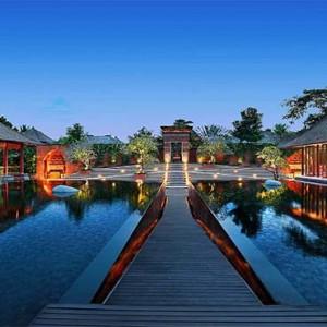 Amarterra Villas Bali Nusa Dua - Luxury Bali Honeymoon Packages - main entrance