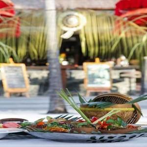 Amarterra Villas Bali Nusa Dua - Luxury Bali Honeymoon Packages - restaurant cuisine
