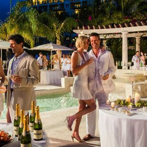 Antigua Honeymoon Packages Sandals Grande Antigua Party