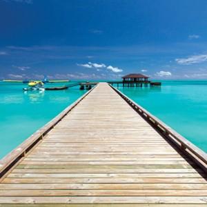 Atmosphere Kanifushi - Luxury Maldives Honeymoon Packages - Jetty