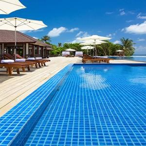 Atmosphere Kanifushi - Luxury Maldives Honeymoon Packages - Pool1