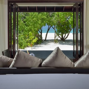 Atmosphere Kanifushi - Luxury Maldives Honeymoon Packages - Sunset Junior Suites beach view