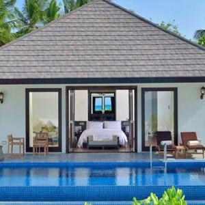Atmosphere Kanifushi - Luxury Maldives Honeymoon Packages - Sunset Pool Villa exterior