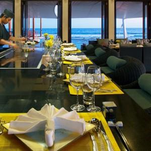 Atmosphere Kanifushi - Luxury Maldives Honeymoon Packages - Teppanyaki Grill