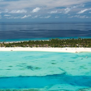 Atmosphere Kanifushi - Luxury Maldives Honeymoon Packages - aerial view1