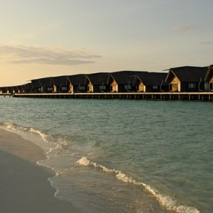 COMO Cocoa island - Luxury Maldives Honeymoon Packages - Dhoni Loft suites exterior