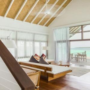 COMO Cocoa island - Luxury Maldives Honeymoon Packages - Loft villa living room
