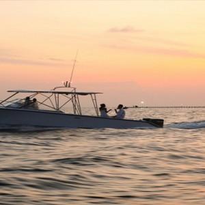 COMO Cocoa island - Luxury Maldives Honeymoon Packages - sunset cruise