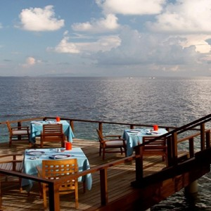 Coco Bodu Hithi - Luxury Maldives Honeymoon Packages - Aqua Restaurant
