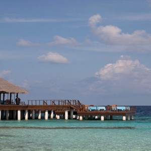 Coco Bodu Hithi - Luxury Maldives Honeymoon Packages - Aqua restaurant exterior