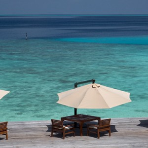 Coco Bodu Hithi - Luxury Maldives Honeymoon Packages - Aqua restaurant exterior1