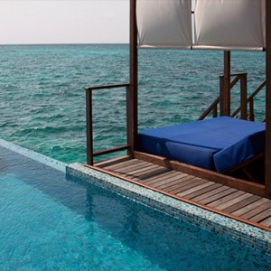 Coco Bodu Hithi - Luxury Maldives Honeymoon Packages - Coco Residence exterior pool