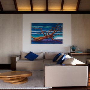 Coco Bodu Hithi - Luxury Maldives Honeymoon Packages - Coco Residence living area