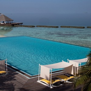 Coco Bodu Hithi - Luxury Maldives Honeymoon Packages - Latitude pool view
