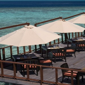 Coco Bodu Hithi - Luxury Maldives Honeymoon Packages - Stars Restaurant