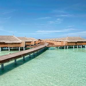 Constance Moofushi - Luxury Maldives Honeymoon Packages - Senior Water Villa exterior