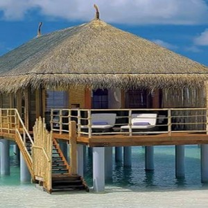 Constance Moofushi - Luxury Maldives Honeymoon Packages - Senior Water Villa exterior view