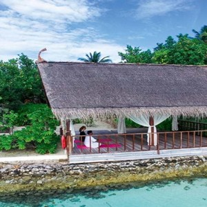 Constance Moofushi - Luxury Maldives Honeymoon Packages - Spa Yoga1