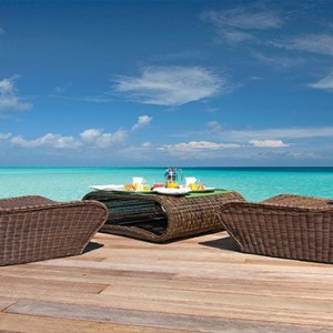 Constance Moofushi - Luxury Maldives Honeymoon Packages - Spa deck
