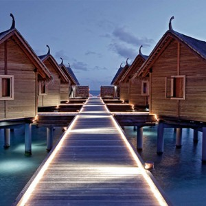 Constance Moofushi - Luxury Maldives Honeymoon Packages - Spa exterior