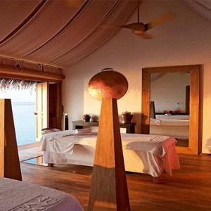 Constance Moofushi - Luxury Maldives Honeymoon Packages - Spa interior