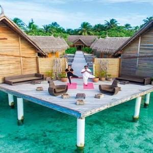 Constance Moofushi - Luxury Maldives Honeymoon Packages - Spa yoga